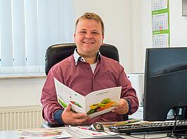 """Jens Regenhardt, Vertriebsleiter: """"Gemeinsam mit unserem Kunden erarbeiten wir das für ihn passende Frische-Konzept."""""""